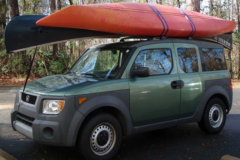 how to strap kayak to roof rack