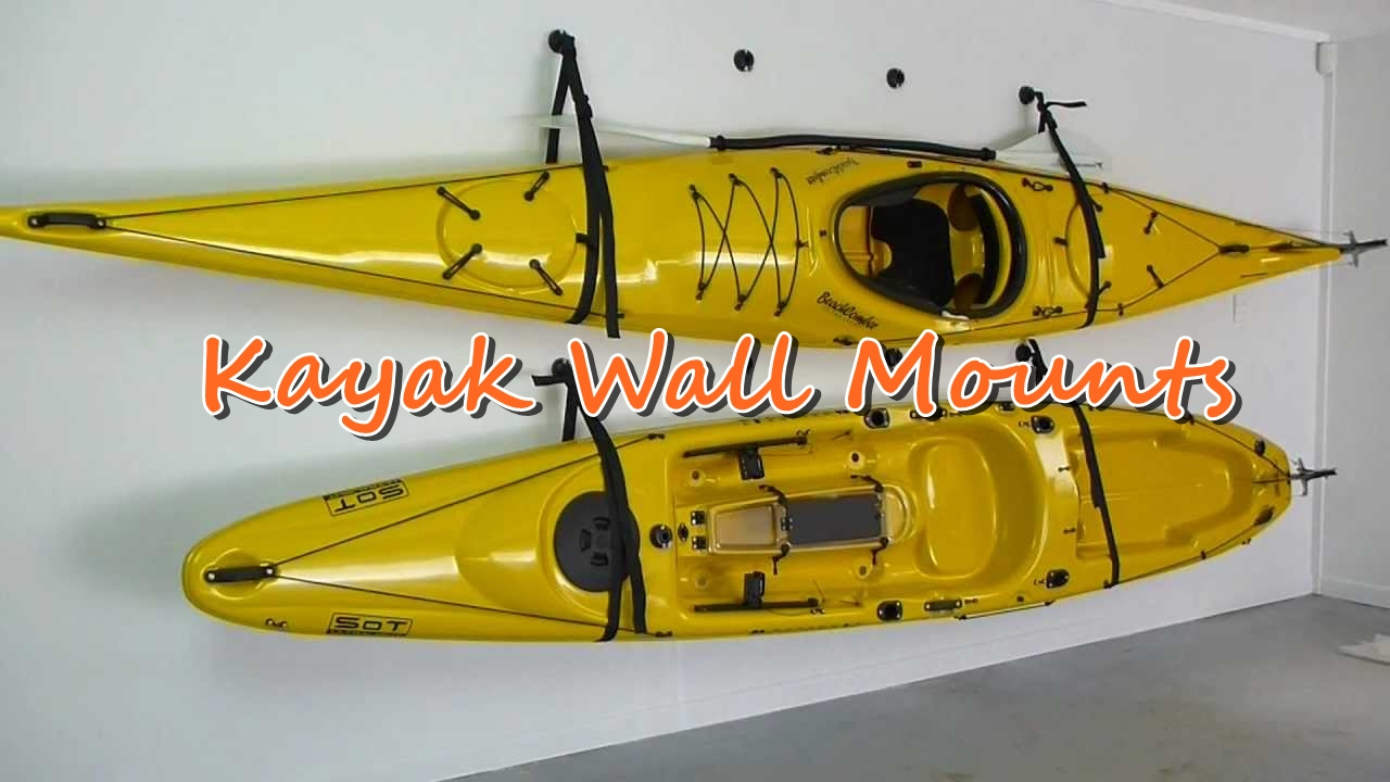 kayak wall mount
