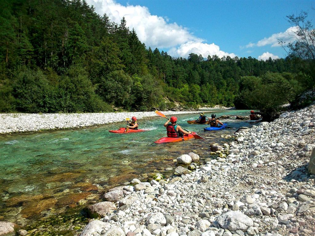 kayaking destinations soca river