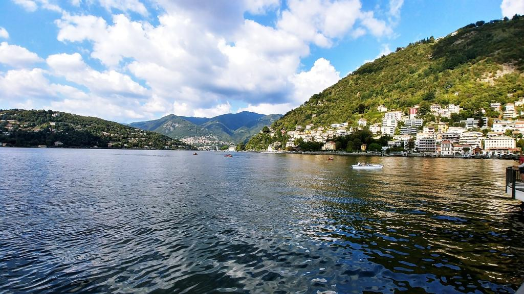 european kayaking lake como
