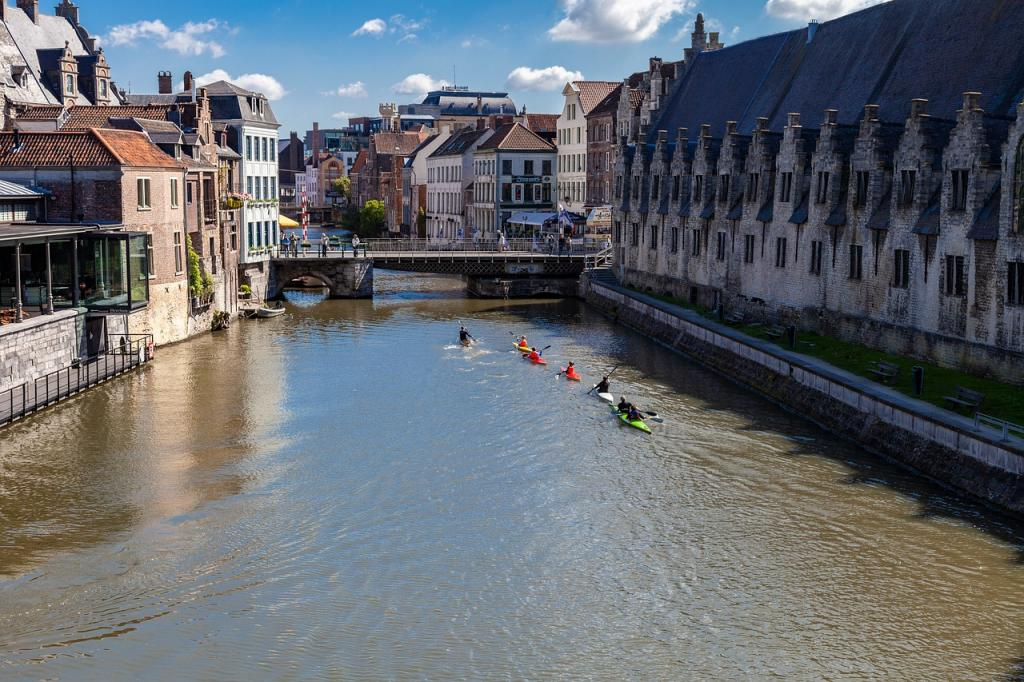 european kayaking ghent