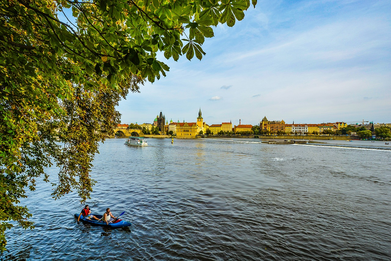 prague kayaking